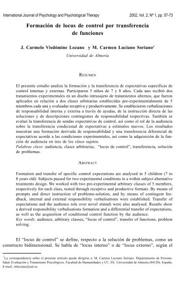 Psychology Journal Pdf