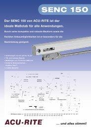 Der SENC 150 von ACU-RITE ist der ideale Maßstab für alle