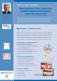 einsatzbereich von ästhetisch ansprechenden ... - MS Dentistry