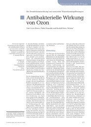 Antibakterielle Wirkung von Ozon - Endodienste
