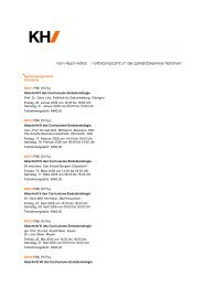 Curriculum Endodontologie - Zahnärzte Dr. Regina und Prof. Dr ...