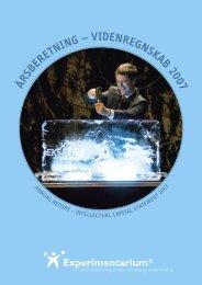 Årsberetning 2007 - Experimentarium