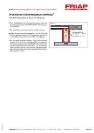 Technische Dokumentation airModul® 10. Merkblatt 03 ... - Friap AG