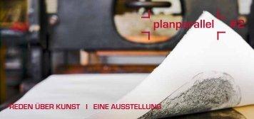 Einladung planparallel #2 - Druckgrafik