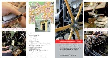 Museum für Druckkunst Leipzig Zwischen Technik und Kunst