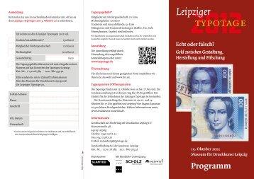 Flyer zum Download mit Anmeldemöglichkeit. - Museum für ...