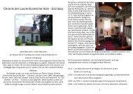 Chronik der Laurentiuskirche in Hain-Gründau