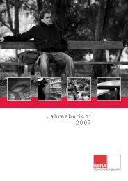 Jahresbericht 2007 ESRA Arbeitsintegration - Caritas Thurgau