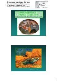 Neurobiologia i regulacio del son. Sandra Gimenez