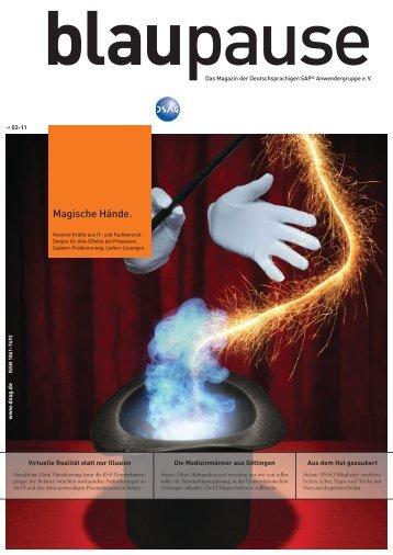Magische Hände. - DSAG