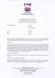 Protokoll JHV 2008 - Düsseldorfer Schwimmclub 1898 eV