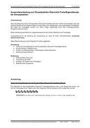 Anwenderanleitung zur Einsatzstellen-Übersicht Freiwilligendienste ...