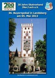 36. Bayernpokal in Landsberg am 05. Mai 2013 - DSkV