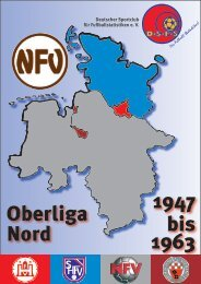 1947 bis 1963 Oberliga Nord - DSFS