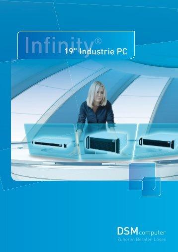 Flyer über unsere Infinity® 19'' IPC - DSM Computer