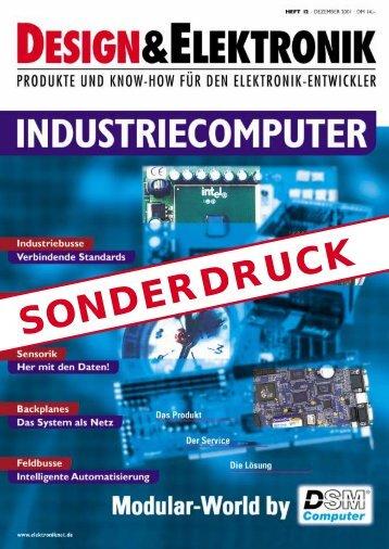 SONDERDRUCK - DSM Computer
