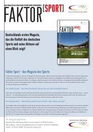 Faktor Sport - DSM Olympia