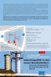 Industriepolitik in den neuen Bundesländern - DSSW