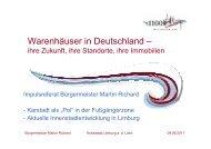 Warenhäuser in Deutschland – - DSSW