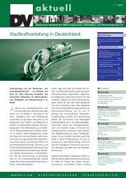 Dv-Aktuell 01/2005 - DSSW