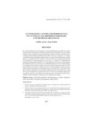 actividad de la enzima deshidrogenasa en un suelo ... - Sitio SIAN