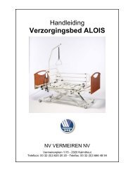 Alois Bed - NV Vermeiren NV