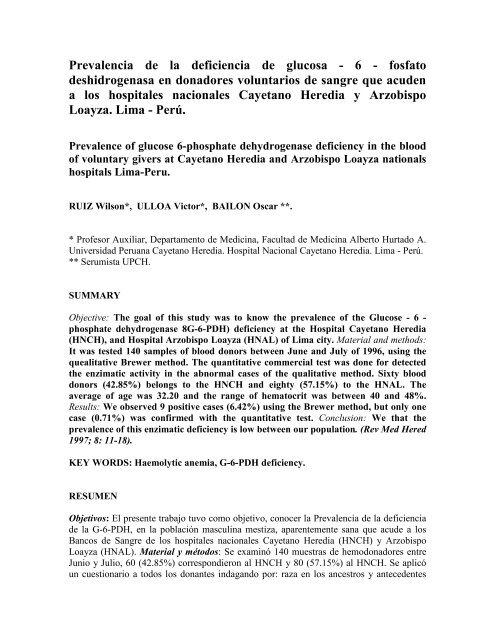 glucosa 6 fosfato deshidrogenasa deficiencia emedicina diabetes
