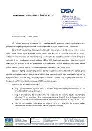 Newsletter DSV Road nr 7_ 2011_Wprowadzenie Elektornicznego ...