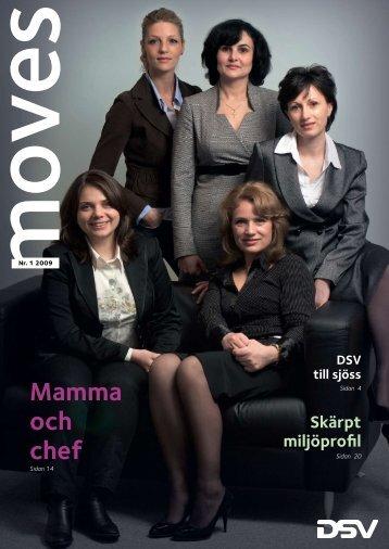 Mamma och chef - DSV