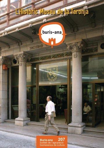L'Històric Museu de la Taronja - ajuntament de burriana