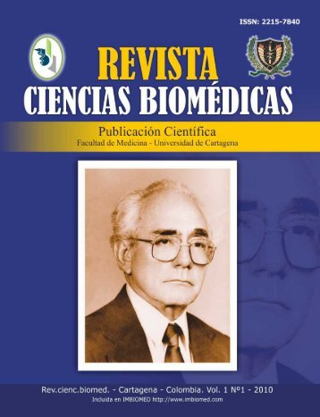 revista ciencias biomédicas - Universidad de Cartagena