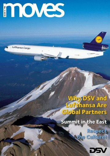 Why DSV and Lufthansa Are Global Partners Summit in the East ...