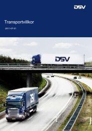 Transportvillkor - DSV
