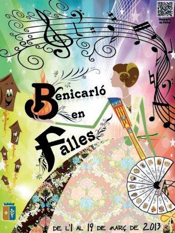 Programa Falles 2013 - Ajuntament de Benicarló