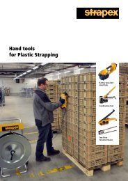 Hand tools for Plastic Strapping - strapex.com