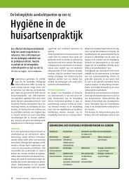Hygiëne in de huisartsenpraktijk - Landelijke Huisartsen Vereniging ...