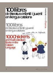 100 llibres de literatura infantil i juvenil en llengua catalana