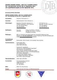 Ausschreibung 2011 - Deutscher Tennis Bund