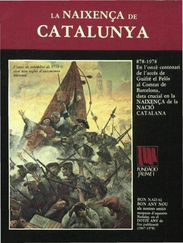 la naixença de catalunya - Fundació Lluís Carulla