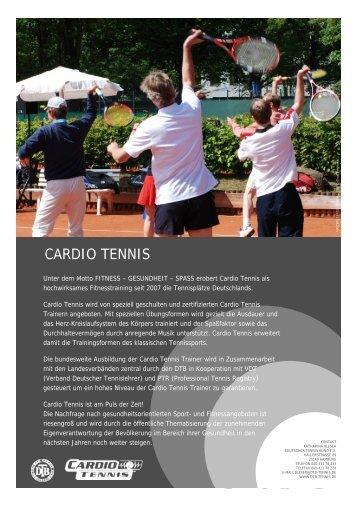 CARDIO TENNIS - Deutscher Tennis Bund