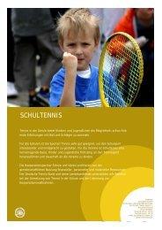 SCHULTENNIS - Deutscher Tennis Bund