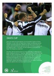 DAVIS CUP - Deutscher Tennis Bund