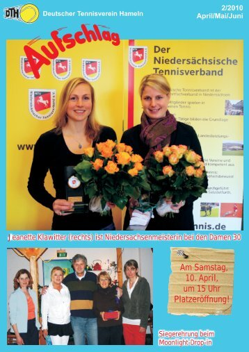 PDF (25.991 KB) - Deutscher Tennisverein Hameln