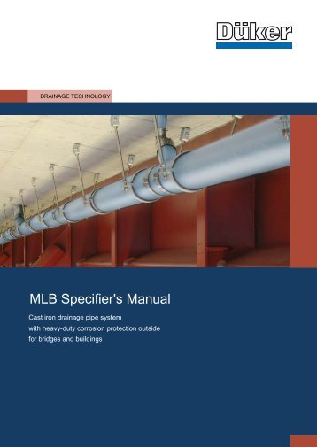 MLB Specifier's Manual - Düker GmbH & Co KGaA