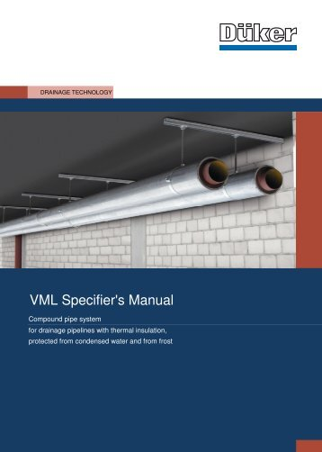 VML Specifier's Manual - Düker GmbH & Co KGaA
