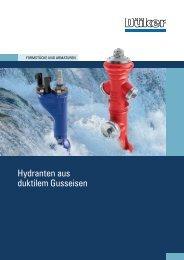 Prospekt Hydranten - Düker GmbH & Co KGaA
