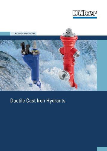 Brochure Hydrants - Düker GmbH & Co KGaA