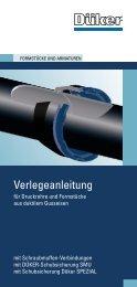 Verlegeanleitung - Düker GmbH & Co KGaA