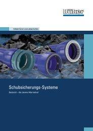 Prospekt Schubsicherungen - Düker GmbH & Co KGaA
