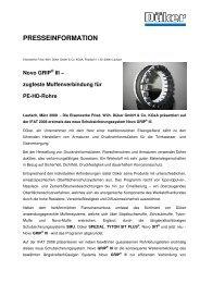 Novo GRIP - Düker GmbH & Co KGaA